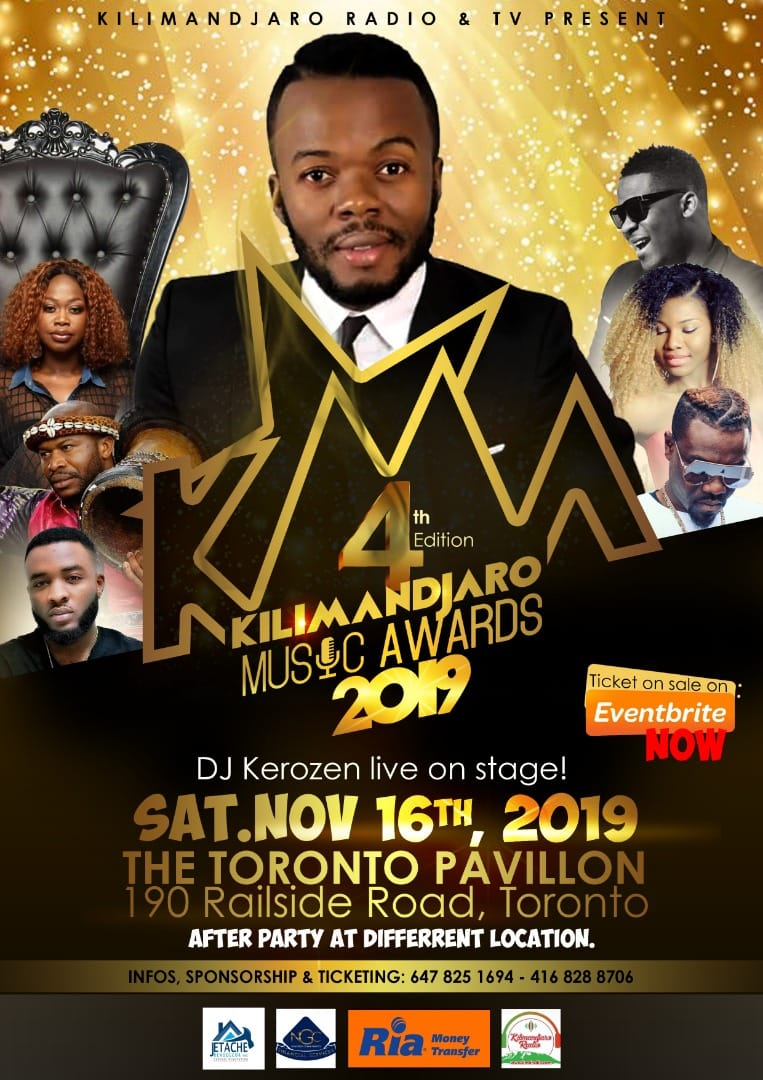 KILIMANDJARO Music AWARDS 2019. 4th édition